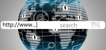 nome di dominio di un sito web